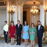 The Duchess calls on members of The Grand Ducal Family at the Grand Ducal Palace Photo C KENSINGTONROYAL TWITTER
