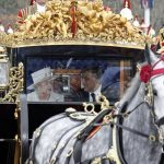 The Queen and Mr Abdul rode back to Buckingham palace together after the ceremony