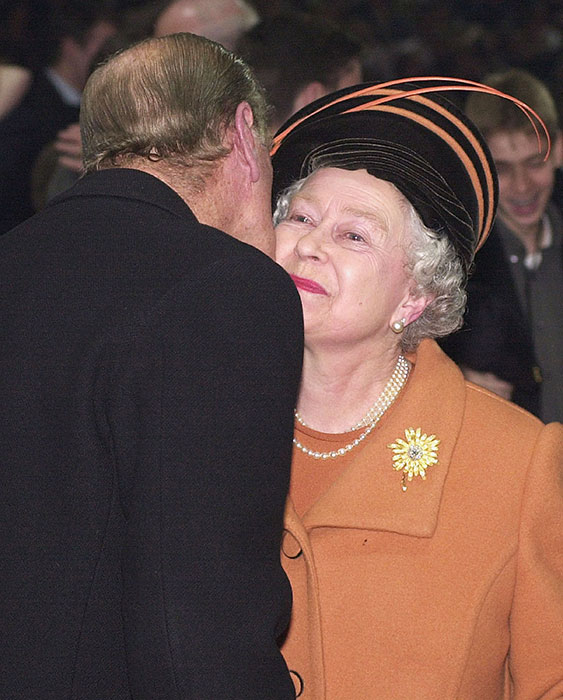The Queen and Prince Philip have been married for seven decades Photo C GETTY IMAGES