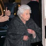 The Queen steps out for dinner at The Ivy Photo C GETTY IMAGES