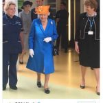 The Queen visiting @RMCHosp today will have meant a lot to the patients and staff. Thank you for the kind words and support. Photo C TWITTER