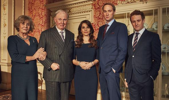 The cast of BBC drama King Charles III Photo C BBC