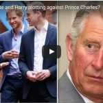 Video Are William Kate and Harry plotting against Prince Charles