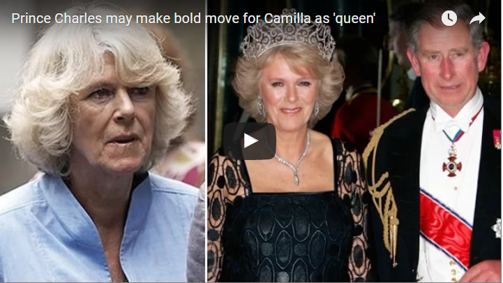 Video Prince Charles may make bold move for Camilla as queen