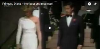 Video Princess Diana Her best entrance ever