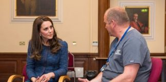 1 The Duchess of Cambridge has visited a hospital to meet staff and patients affected by the London Bridge attack Photo C PA