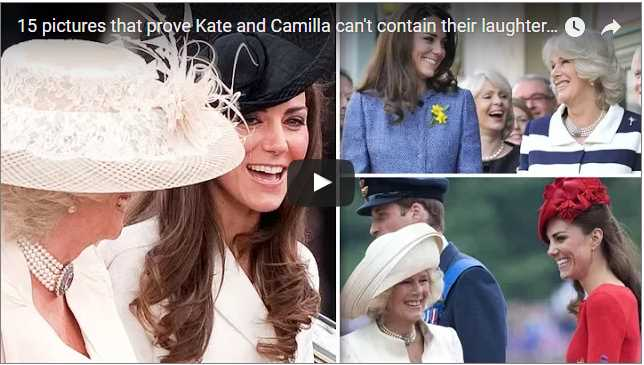 15 pictures that prove Catherine Duchess of Cambridge and Camilla cant contain their laughter around each other