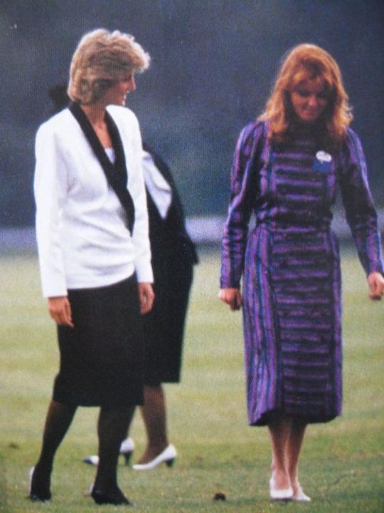 23 Princess Diana and Sarah Ferguson Photo C GETTY IMAGES