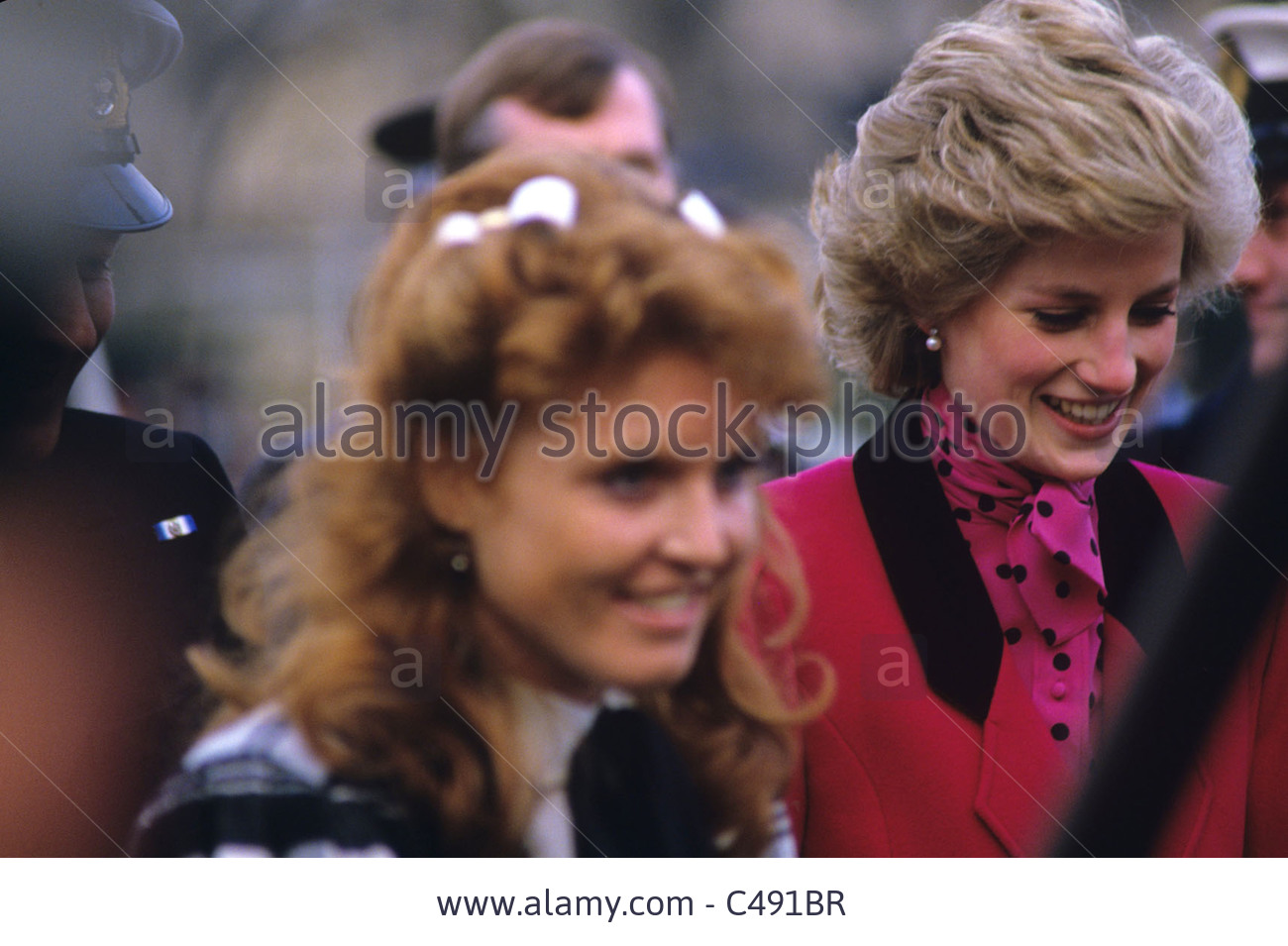 diana and sarah ferguson relationship