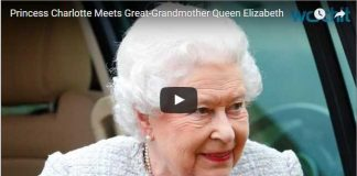 5 May 2015 Princess Charlotte Meets Great Grandmother Queen Elizabeth