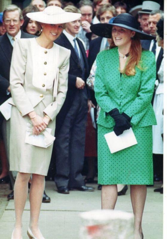 Princess Diana and Sarah Ferguson Photo (C) GETTY IMAGES