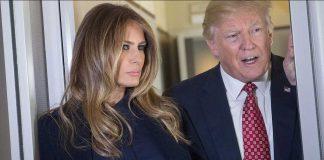 Melania Trump and Donald Trump Photo (C) GETTY IMAGES