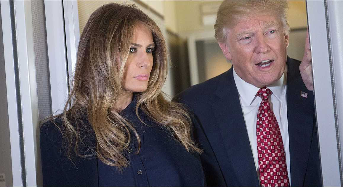 Melania Trump and Donald Trump Photo (C) GETTY IMAGES