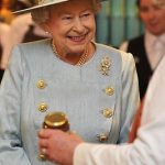 A jar of joy The Queen beamed during her visit to Piccadillys Fortnum and Mason store in 2012 Photo C TOBY MELVILLE AFP GETTY IMAGES