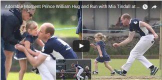 Adorable Moment Prince William Hug and Run with Mia Tindall at Charity Polo Match