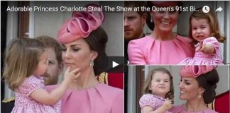 Adorable Princess Charlotte Steal The Show at the Queens 91st Birthday