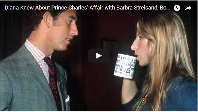 Barbra Streisand and Prince Charles Photo C GETTY IMAGES