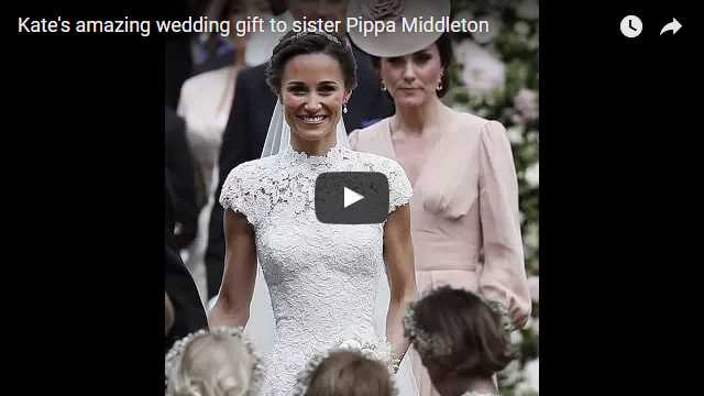 Be The First to Know About Catherine Duchess of Cambridges amazing wedding gift to sister Pippa Middleton