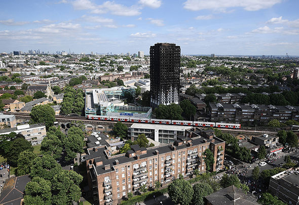 Britain is still morning the victims of the Grenfell Tower fire Photo (C) GETTY