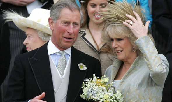 Camilla and Charles on their wedding day Photo (C) GETTY IMAGES