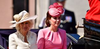 Camilla and Princess Kate at the Trooping of the Colour Photo C GETTY IMAGES