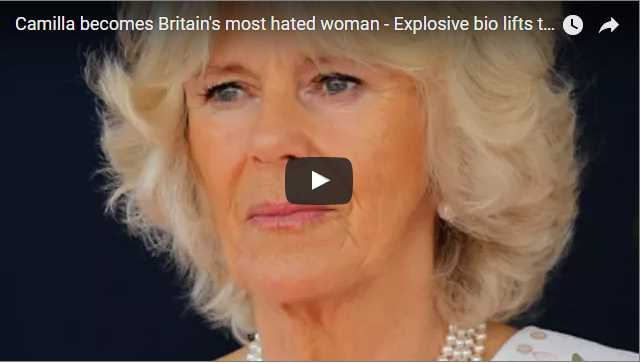 Camilla becomes Britains most hated woman Explosive bio lifts the lid on her affair with Charles