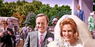 Camilla never seemed to blame her husbands lovers or even have any stormy showdowns with Andrew pictured on their wedding day in 1973