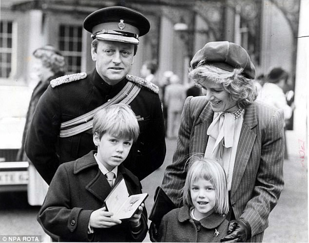 Camilla, pictured with her husband and children Tom and Laura, was deeply hurt by her husband's endless cheating - often with her friends
