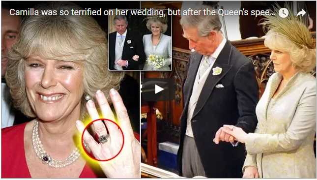 Camilla was so terrified on her wedding but this what Queen did to comfort Camilla