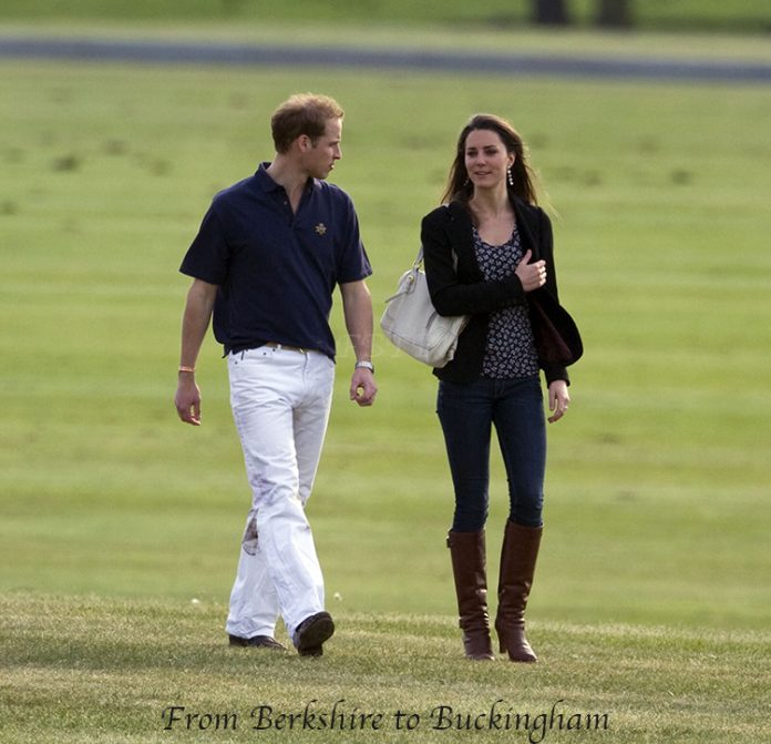 Princes William and Harry played a charity polo match watched by William's girlfriend Kate Middleton and her sister Pippa Middleton at Coworth Park Polo Club, Ascot, Berkshire.Pictured: Prince William, Kate Middleton Ref: SPL99744 100509 Picture by: Splash NewsSplash News and PicturesLos Angeles: 310-821-2666New York: 212-619-2666London: 870-934-2666photodesk@splashnews.com