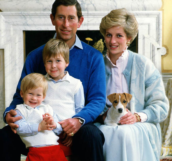 Charles and Diana had two sons, William and Harry Photo (C) GETTY IMAGES