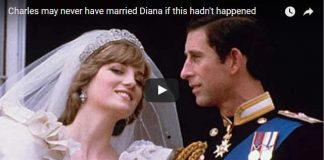 Charles may never have married Diana if this hadnt happened