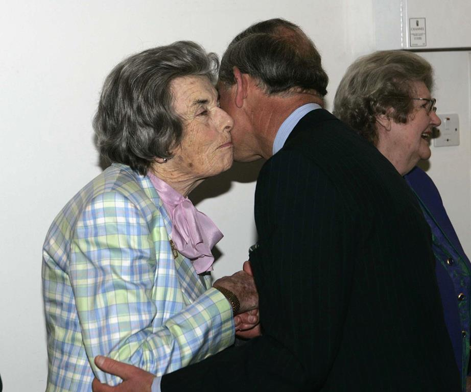 Charles shared a very close bond with his godmother. Photo (C) GETTY IMAGES