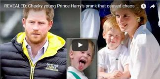 Cheeky young Prince Harry's prank that caused chaos at Althorp Estate