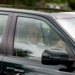 Despite having been taken to hospital for an infection earlier this week Prince Phillip appeared to be back