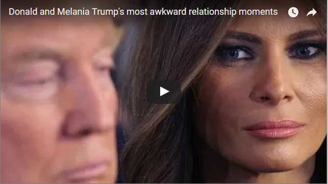 Donald and Melania Trumps most awkward relationship moments