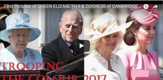 First Pictures of Queen Elizabeth Ii & Duchess of Cambridge at Trooping the Colour 2017