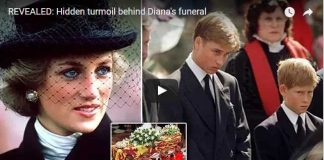 Hidden turmoil behind Dianas funeral
