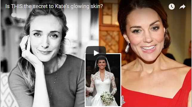 Is THIS the secret to Kate's glowing skin