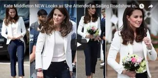 Kate Middleton NEW Looks as She Attended a Sailing Roadshow in East London