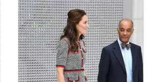 Kate Middleton NEW Looks in £1790 Gucci Tweed Dress at The Open the New Wing at London's VA