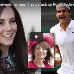 Kate Middleton reveals her mum has a crush on Roger Federer in tell all tennis documentary