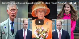 Kate Pregnancy Forces Queen Elizabeth To Make Prince William King Rather Than Prince Charles.