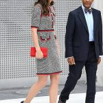 Kate looked stunning in a Gucci outfit Photo C GETTY IMAGES