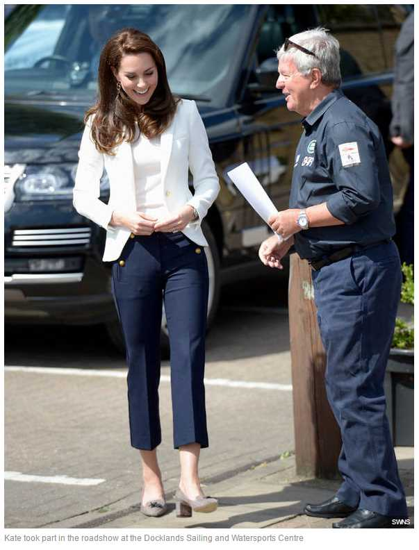 Kate took part in the roadshow at the Docklands Sailing and Watersports Centre