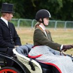 Lady Louise is following in the footsteps the Duke of Edinburgh who was instrumental in helping to establish carriage driving as a sport in Britain