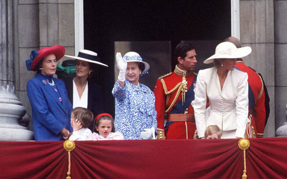 Lady Mountbatten was Prince Charles' godmother Photo (C) GETTY IMAGES