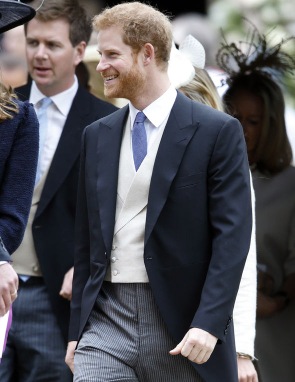 Meghan Markle Prince Harry attended the full event, however Photo (C) GETTY IMAGES