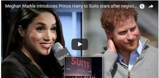 Meghan Markle introduces Prince Harry to Suits stars after neglecting friends for love