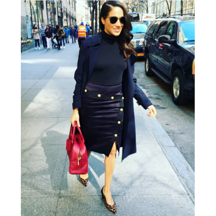 Meghan Markle is a fan of the NYC-based designer's shoes Photo (C) MEGHAN MARKLE INSTAGRAM